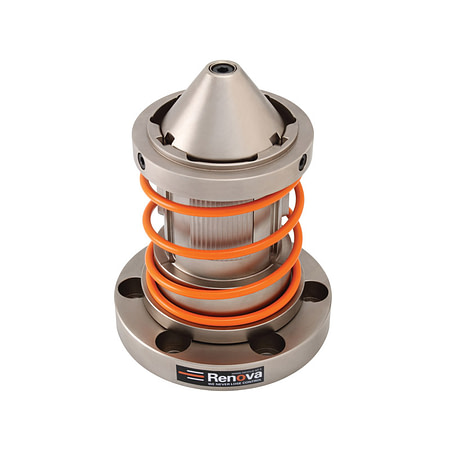 CK-SFM - Single Diameter Core Chuck with Flange and Spring